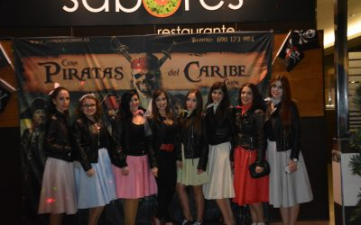 Cena espectáculo PIRATAS DEL CARIBE