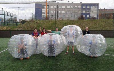 Futbol bubble, Bubble soccer