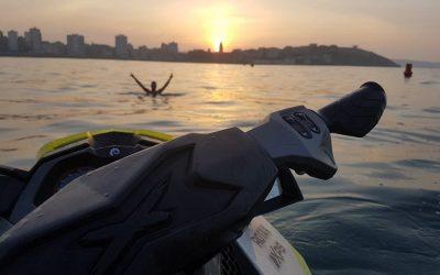 Alquiler motos de agua en Gijón